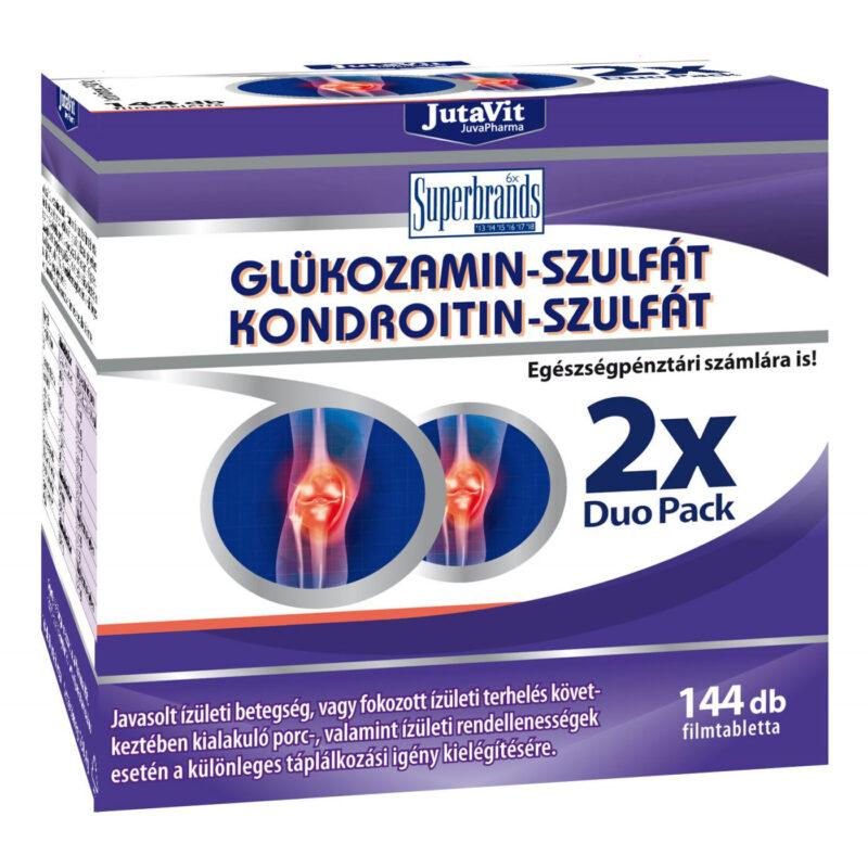 kondroitin-glükozamint tartalmazó gyógyszerek