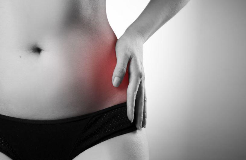 guggolva éles fájdalom a csípőízületben