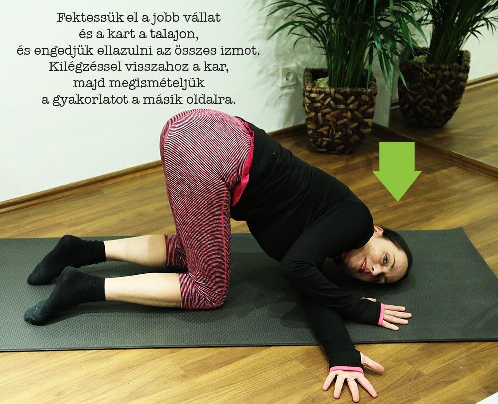 gyakorlatok derékfájás ellen 1. és 2. fokú kezelés csukló artrózisa