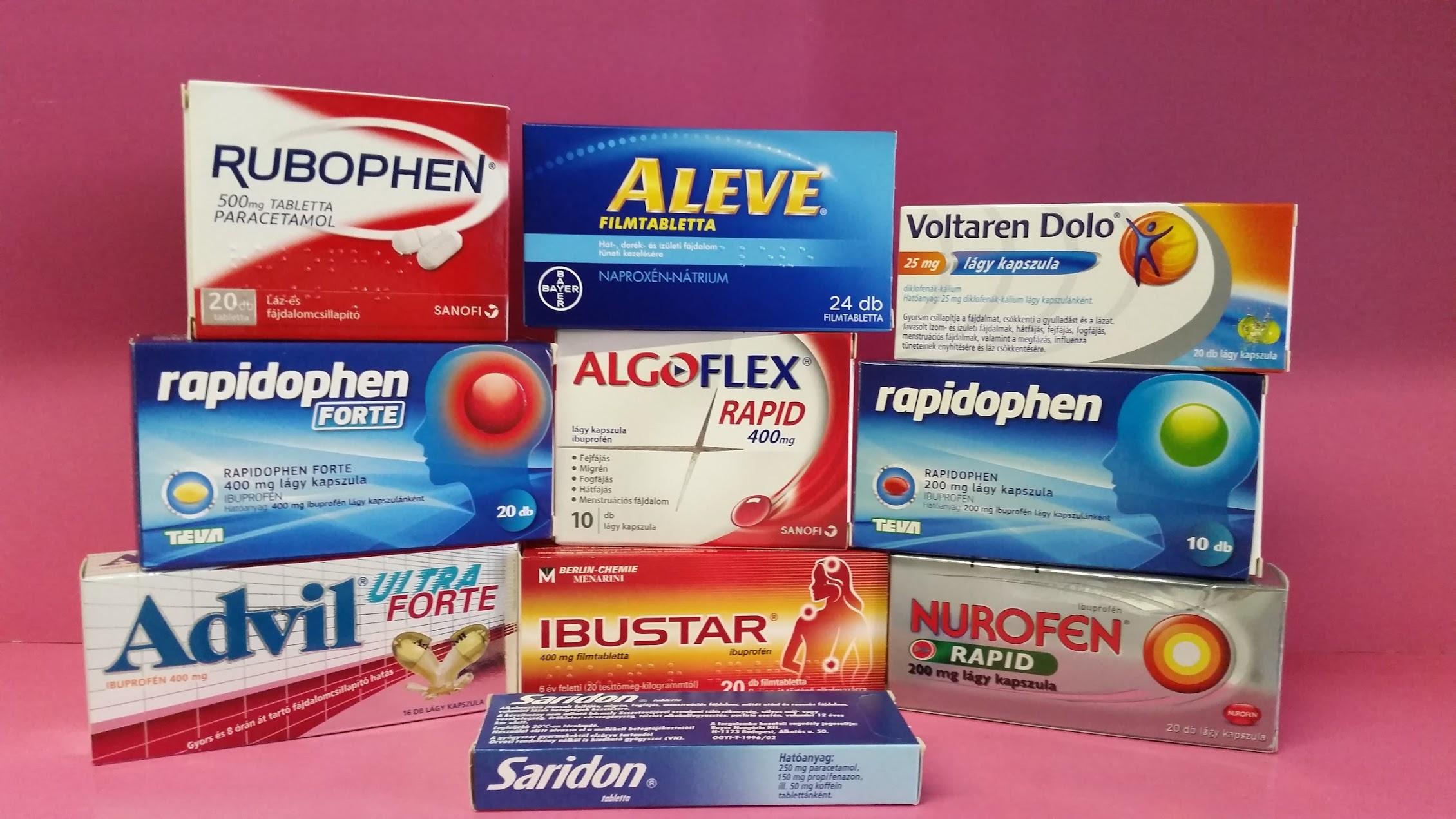 gyógyszerek izületi fájdalom ampulla