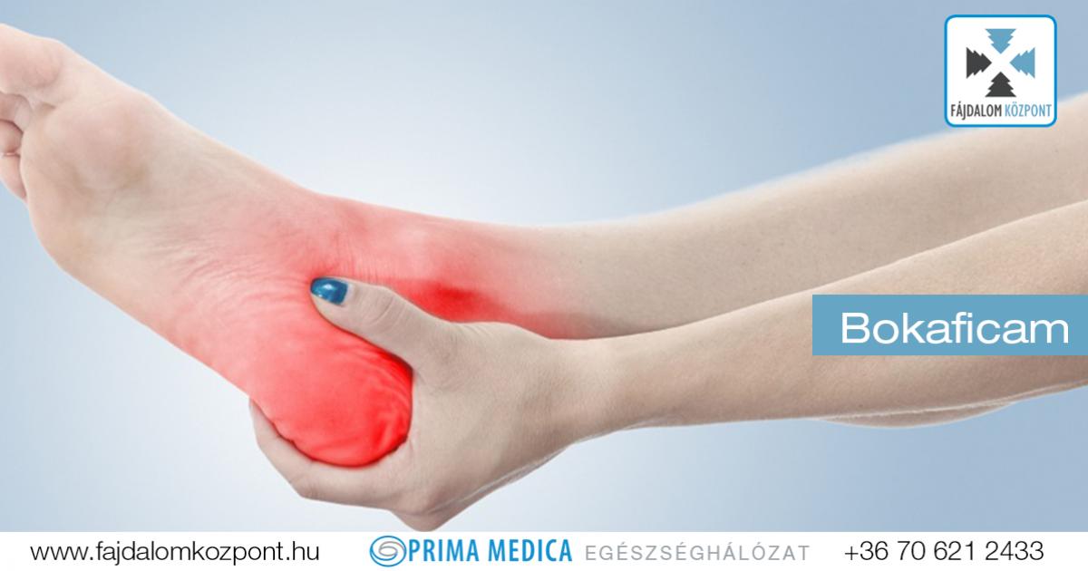 a boka ízülete sérülés közben fáj