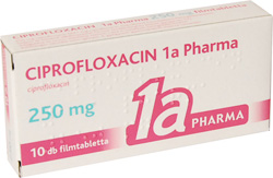 ciprofloxacin ízületi fájdalom