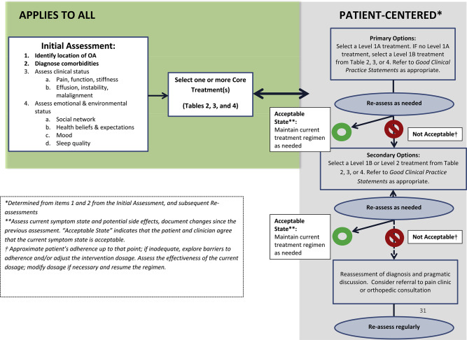 osteoarthritis treatment guidelines 2020
