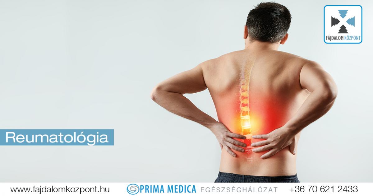 reumatológiai ízületi fájdalom