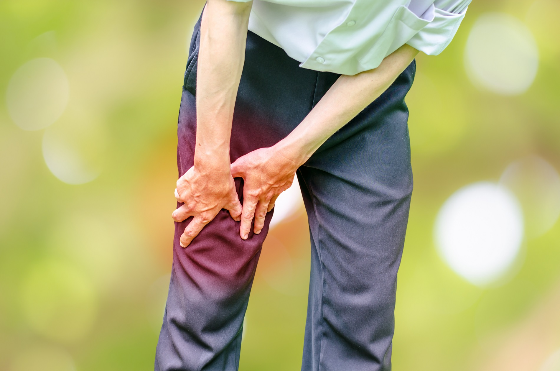 Házi praktikák térdfájdalomra