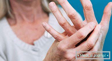 fájó ujjak az ízületekben